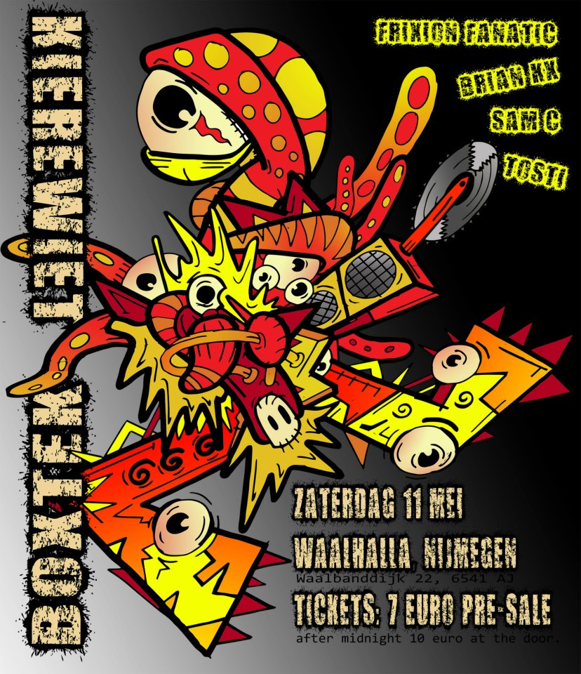 Kierewiet / Boxtek flyer